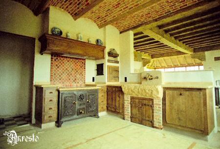 Fornuis Keuken Landelijk : Antieke keukens landelijke keuken ontwerpbureau antiek fornuis