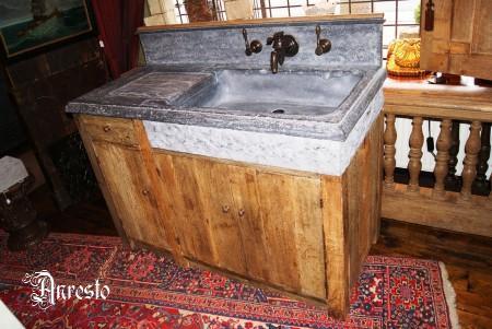 Antieke spoelbak bouwmaterialen - Oude keuken wastafel ...