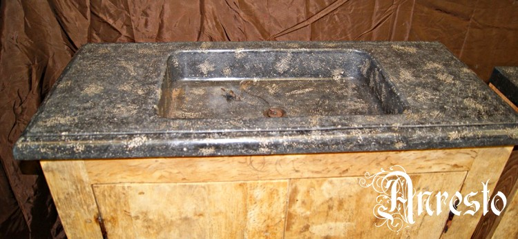 Anresto spoelbak antiek blauwstenen spoelbak wasbak blauwsteen - Oude keuken wastafel ...
