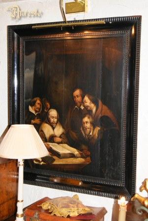 Antieke schilderij willem barentsz - Fotos interieurdecoratie ...