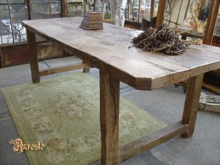 Landelijke keukentafels en stoelen