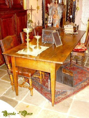 Antique country table