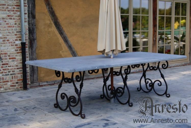 Gietijzeren Tafel Onderstel : Tuintafel. venetiaanse stijl terras tafel tuintafel. tuinmeubilair