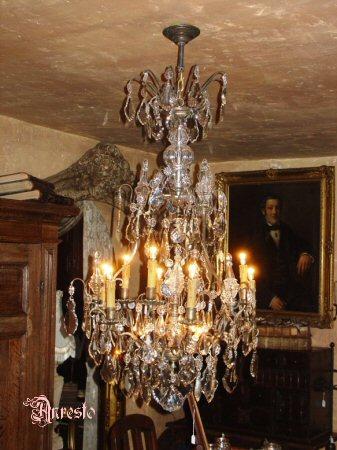 Antique French Lustre Rococo