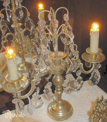 Antique Lighting French Girandole