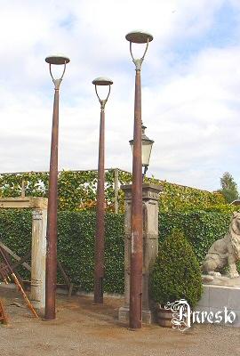 Antieke Brusselse lantaarns, Gegoten door Chapel & Pluntz ...