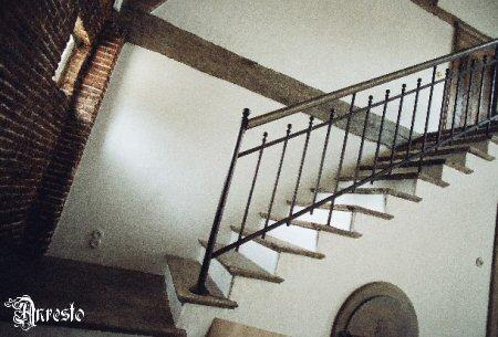 Antieke trappen landelijke zuid franse trap - Leuning smeedijzeren trap ...