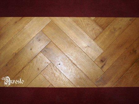 Antiek Visgraat Parket : Eiken historische vloeren. kasteelvloeren anresto; antieke kopse