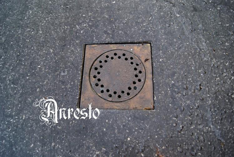 ANRESTO, Water afvoerput Doucheput Antieke afvoerputten # Crepine Wasbak_222355