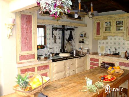 antique kitchen - architectural antiques Anresto