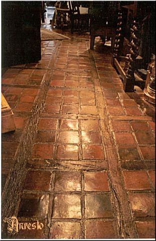 Terracotta Flooring 17th Century Anresto