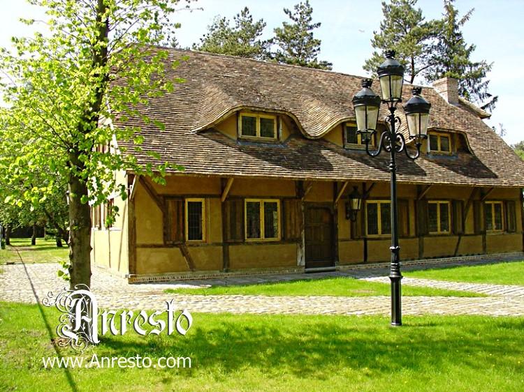 Antieke Kasteel Woning Te Koop Vakwerk Bouwstijl Antieke