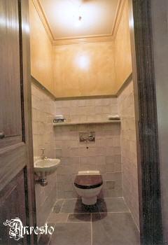 Toilet totaal verbouw project anresto bouw antiek - Decoratie toilet ontwerp ...