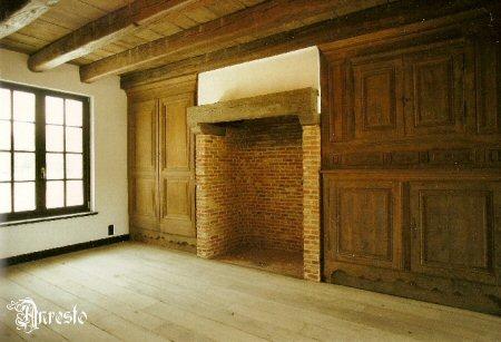 Open Haard Renoveren : Anresto kempisch landelijk interieur met gemetste open haard