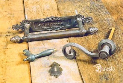 Verrassend ANRESTO, antieke deurklinken KL-95