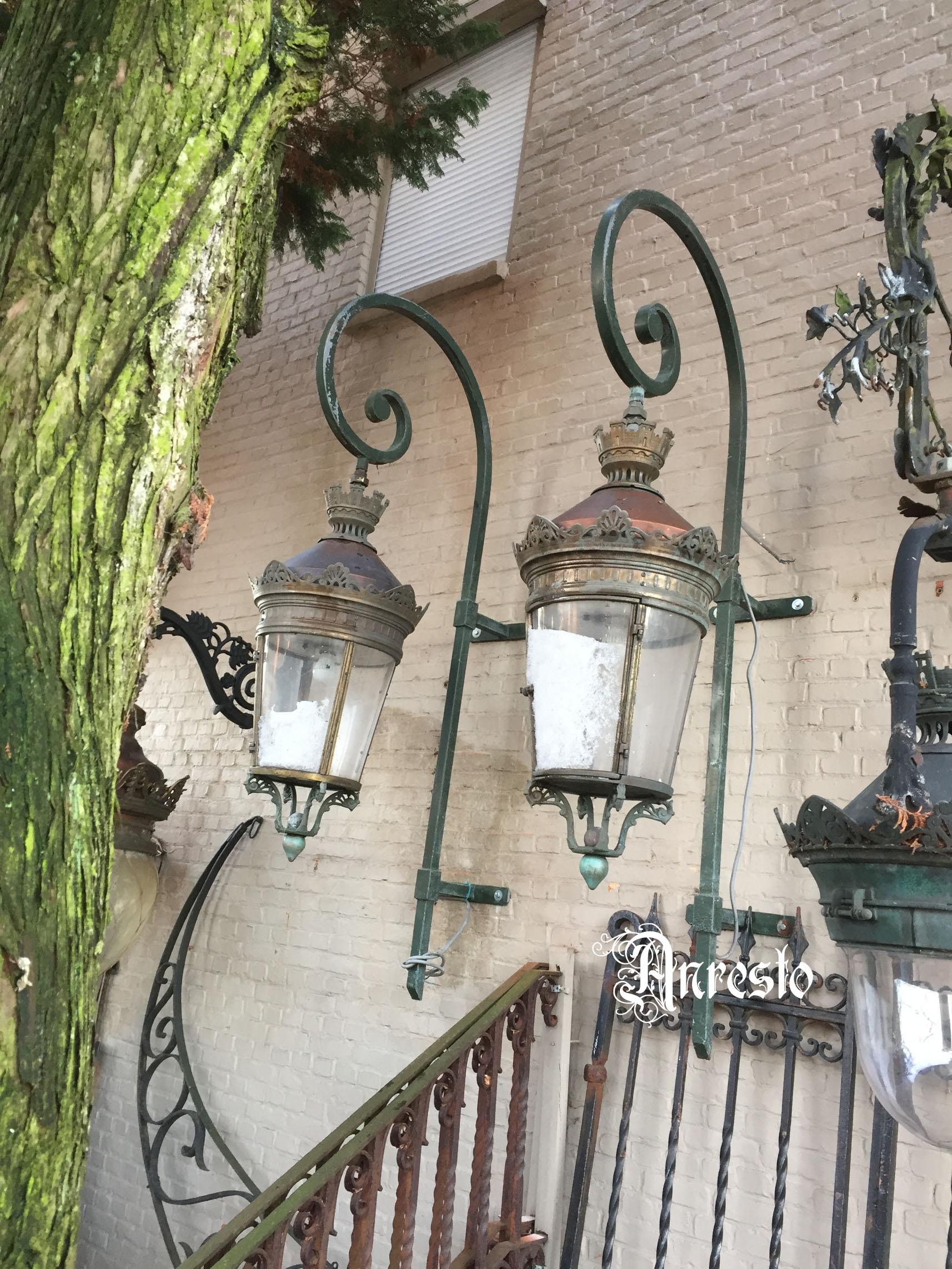 Ongekend Antieke Tuinlampen Buitenverlichting Lantaarns: ANRESTO Antiek JJ-78