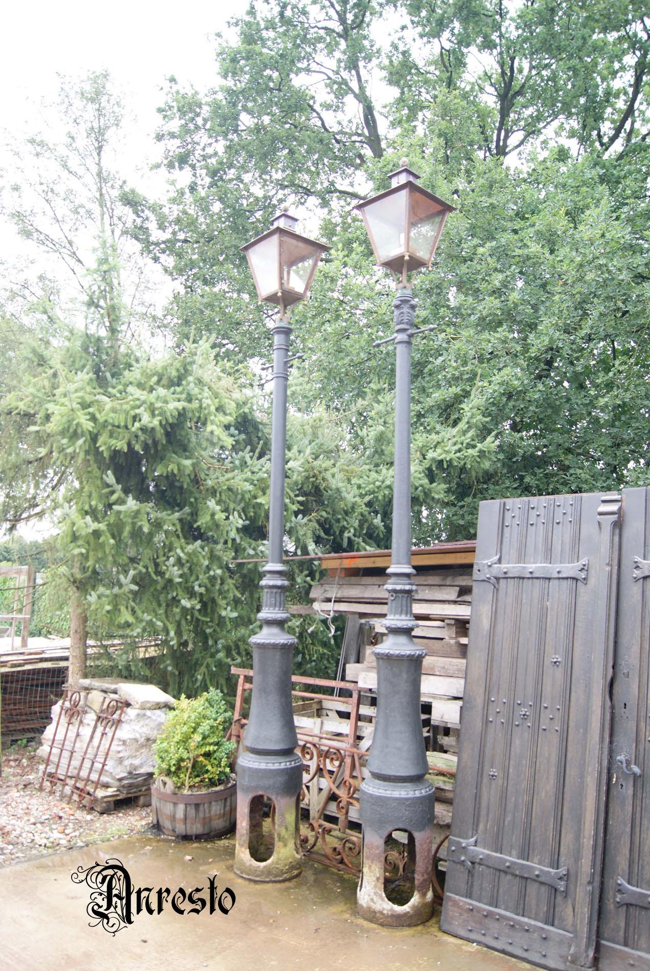 Uitgelezene Antieke Tuinlampen Buitenverlichting Lantaarns: ANRESTO Antiek XV-79